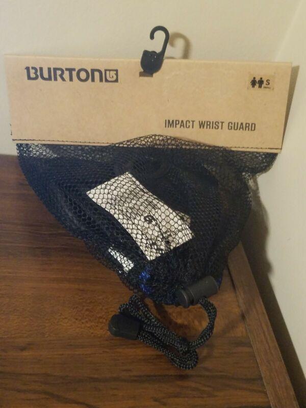 Burton Impact Wrist Guards - True Black - Adult Size S Small - Pair - New