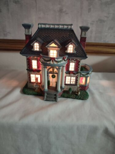Carole Towne 2006 Collection Martin Christmas Lighted House Lemax