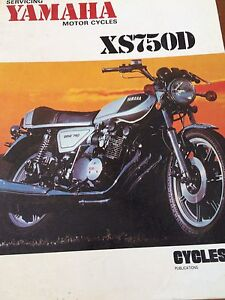 Yamaha XS750 Service Manual