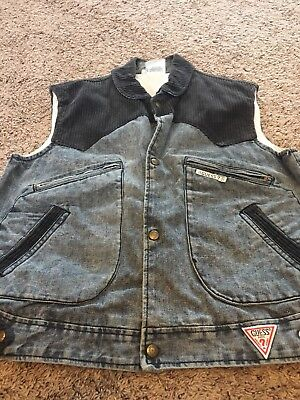 Vintage Guess Jeans Georges Marciano Jean Jacket SM Marty Mcfly Back to Future - Marty Mcfly Jacket