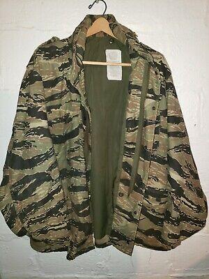 VTG John Ownbey, Tiger Stripe M65 Field Jacket Size X Large Regular