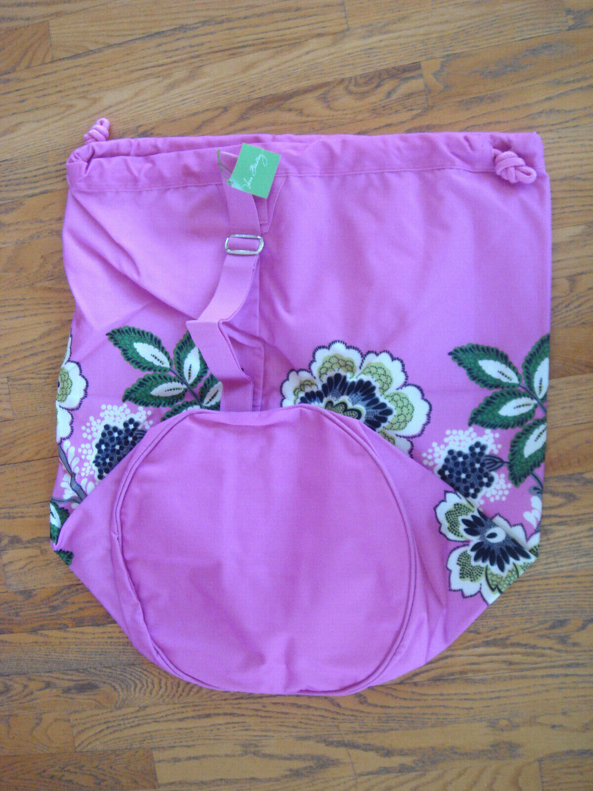 "NWT VERA BRADLEY Priscilla Pink Large Laundry Bag $49 27"" x"