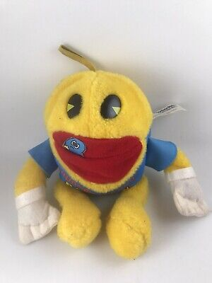 VINTAGE HUNGRY FOR YOU PAC-MAN ARCADE GAME PLUSH Knickerbocker Toys