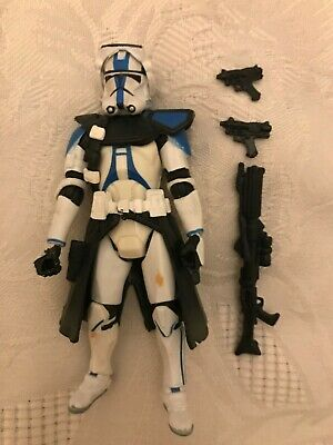 Star Wars Clone Commander Bow 501st Order 66 Action Figure 30th Hasbro 2007