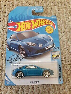 2019 Hot Wheels Car 238/250 Alpine A110 - Q Case - Kroger Exclusive