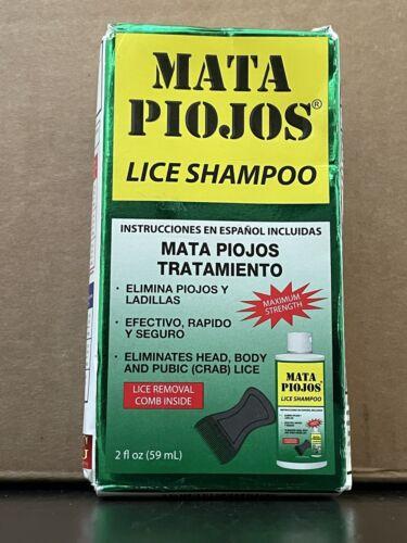 Mata Piojos/Liendres Lice Shampoo Treatment , Fast Action. 2