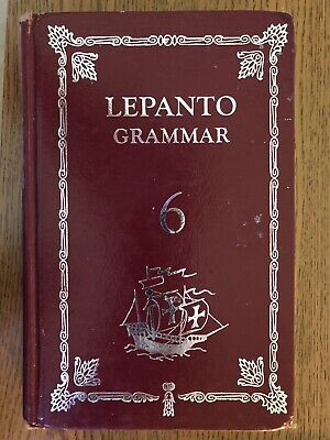 Lepanto Grammar 6 English Textbook