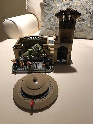 Lego Star Wars Jabba's Palace (9516) and Rancor Pit (75005) 100% complete