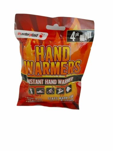 Masterplast Instant Hand Warmers (4 PACK)
