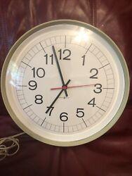 Big Large Howard Miller Oversize Gallery Wall Clock  80's
