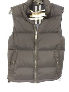 Burberry men's small puffer vest with hood Windsor Region Ontario image 3