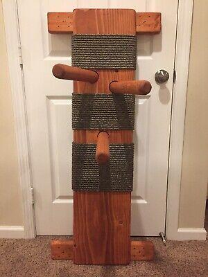 48 INCH WOODEN FLAT BOARD WALL MOUNT WING CHUN DUMMY