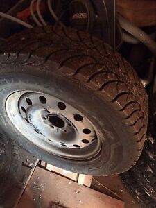 Good year ultra grip ice truck tires