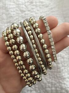 8 gold bangles bracelers Newcastle Newcastle Area Preview