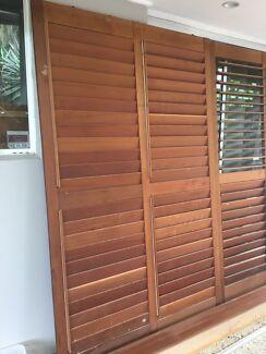 Internal timber louver doors. & door in Maroochydore Area QLD | Home u0026 Garden | Gumtree Australia ...