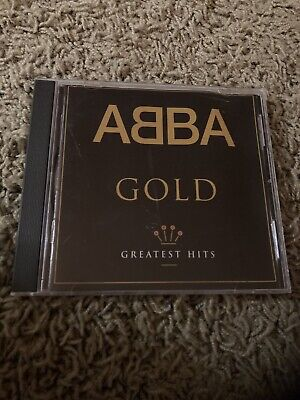 ABBA GOLD GREATEST HITS CD 1992 POLYGRAM RECORDS NICE!