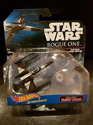 """Hot Wheels Star Wars Starships """"Rogue One - Partisan X-Wing Fighter"""