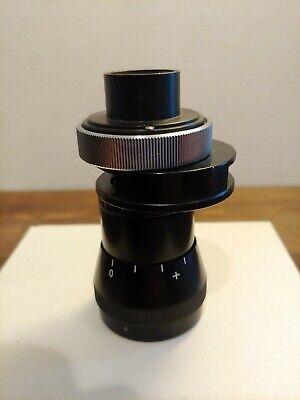Carl Zeiss Photo Microscope Camera Adapter Filter Focusing Eyepiece Attachment