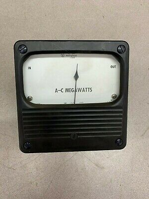 New No Box Westinghouse A-c Megawatts Panel Meter 1957968