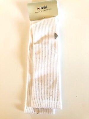 """Vintage 22"""" Kaepa White Crew Socks"""