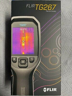 Flir Systems Thermal Tg267 Camera 160x120 Resolution 9hz Newsds