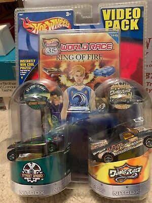Hot Wheels Highway 35 World Race Sling Shot #8 & Ford F-150 #25 (VERY RARE)