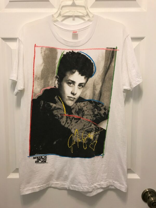 Vintage Authentic 1989 New Kids On The Block Joey McIntyre Concert T-shirt