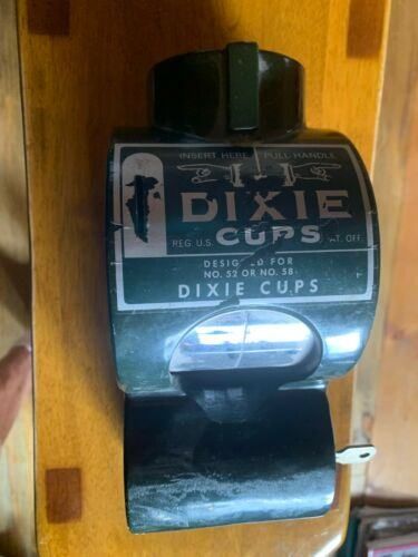 WALL MOUNT FOR DIXIE CUP DISPENSER / WALL MOUNT ONLY!