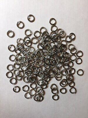 4,000 Pcs METALLIC GREY Jump Rings 10mm 14 Gauge Aluminum Chainmail Supplies](Chainmail Supplies)