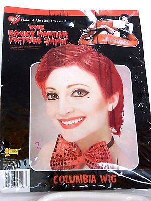 Rocky Horror Picture Show Women's Wig Halloween Costume Trick Or Treat Party](Halloween Mask Pic)