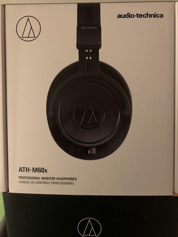 Audio Technica ATH-M60x Monitor Closed-Back Studio Headphones