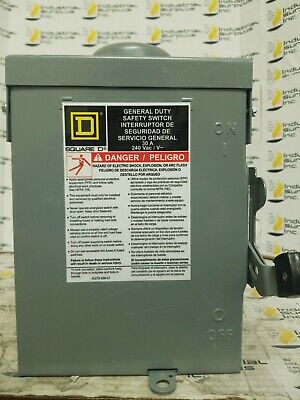 Square D Safety Switch D321nrb Free Shipping