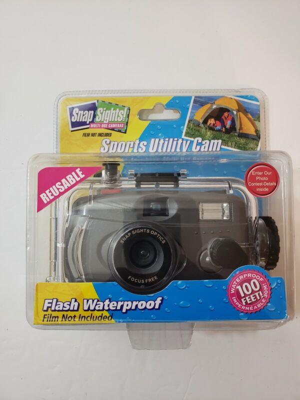 Snap Sights Underwater Camera, Waterproof Up To 100 Feet. - NEW