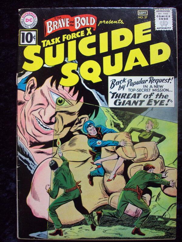 BRAVE & THE BOLD #37 SUICIDE SQUAD APP DC COMICS SILVER AGE