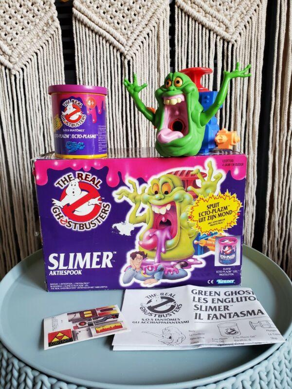 *EUC* Kenner Ghostbusters Gooper Ghost Slimer Englutou Ectoplazm Dutch - 1986