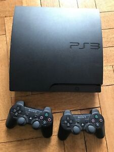 PS3 with controllers and 4 games- for best offer