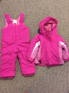 Girls outerwear and snowsuits
