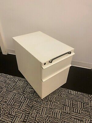 Knoll Mobile Pedestal Underdesk File Cabinet Drawer With Wheels