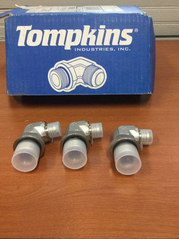 TOMPKINS IND 8MJ-12MB90 STAINLESS  LOT OF 3 NEW