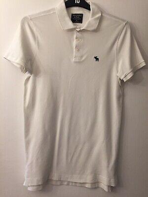 mens abercrombie Polo Shirt medium