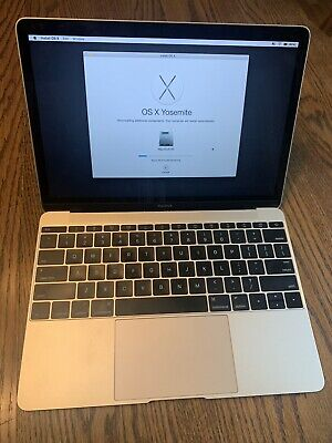 Apple MacBook 12 inch Laptop - MK4N2LL/A (2015)