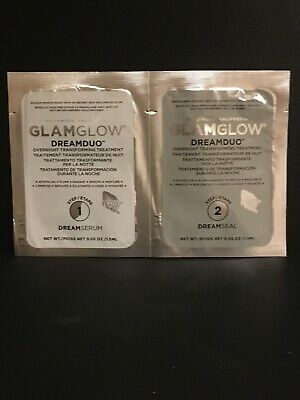 GLAMGLOW Hollywood - DREAMDUO OVERNIGHT TREATMENT STEP 1 & 2 - 1.5ml Samples