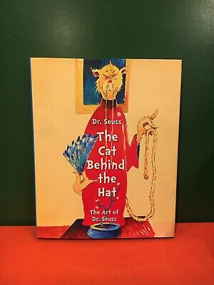 The Cat Behind the Hat Art of Dr Seuss RARE out of print Hardcover in DJ