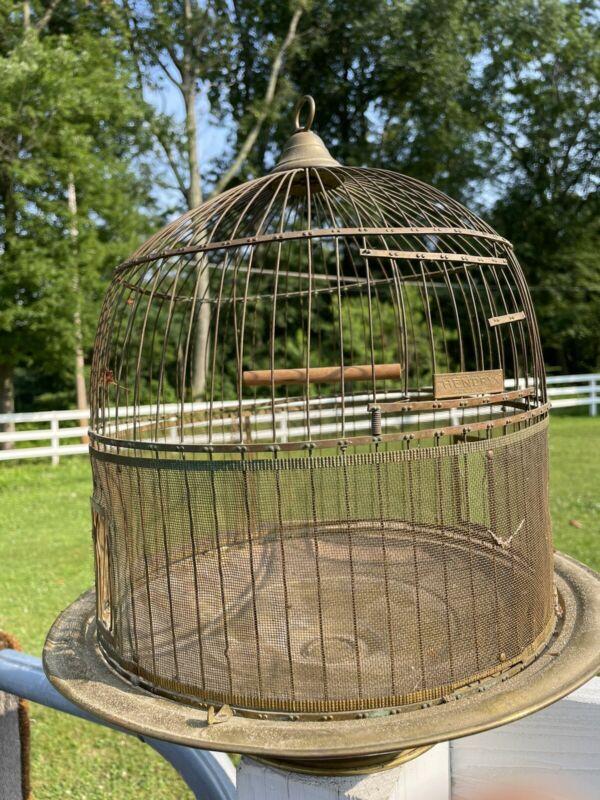 Antique Hendryx Birdcage, Circa 1920's