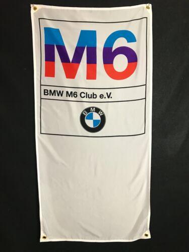BMW M6 Banner Flag - MotorSport Alpina Hartge M5 3.0cs 2002 DTM M6 Dtm E30 M3 Z3