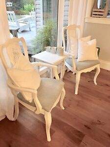Shabby Chic Antique Chairs