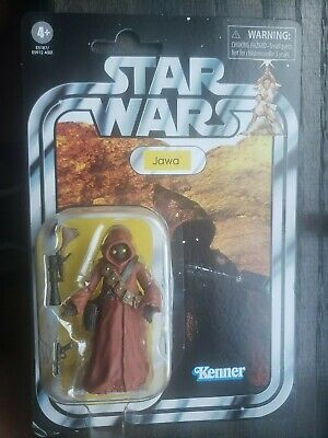 "NEW! Kenner Star Wars VINTAGE A NEW HOPE ""JAWA""  3.75"" ACTION FIGURE!"
