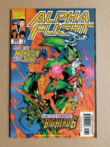 Alpha Flight #17 (1998 Marvel Comics) First Appearance of Big Hero 6 ~ FN-