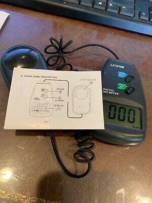 Lx-1010b Digital Lux Meter