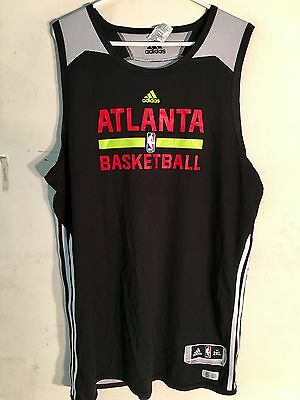 Adidas Reversible NBA Jersey Atlanta Hawks Team Black Alt sz 2X